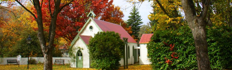 Arrowtown Anglican church